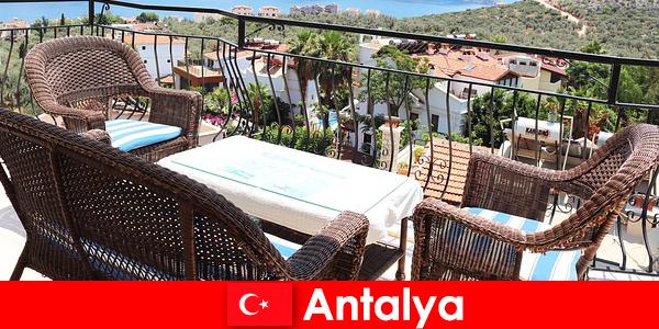 Gæstfrihed i Tyrkiet bekræftes igen af turister i Antalya