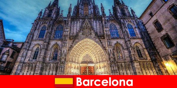 Barcelona inspirerer alle gæster med vidnesbyrd om årtusinders gamle kultur
