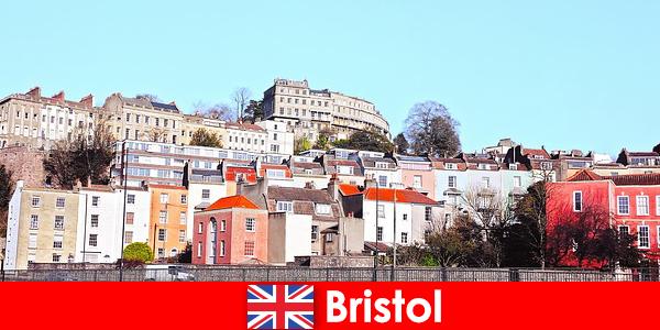Bristol byen med ungdomskultur og venlig atmosfære for det ukendte