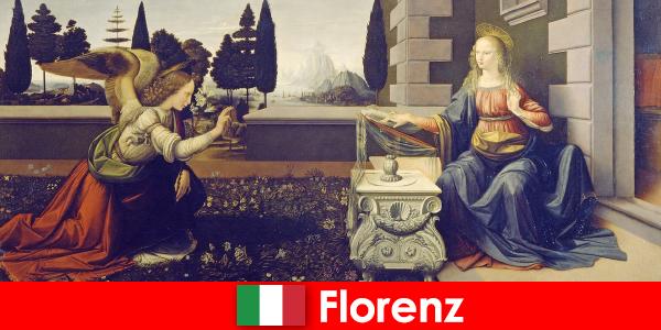 Turister kender Firenzes kulturelle betydning for billedkunsten
