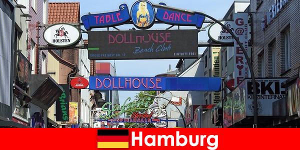 Hamburg Reeperbahn – Natteliv bordeller og escort service for sexturisme