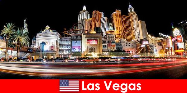 Las Vegas verdens hovedstad for underholdning lækkerier udlændinge med sit natteliv