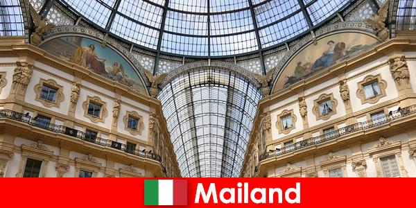 Mystisk atmosfære i Milano med renæssance symboler