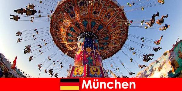 Internationale sportsbegivenheder og Oktoberfests i München er en magnet for gæster