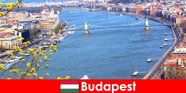 Budapest i Ungarn et populært rejsetip til badning og wellness ferie