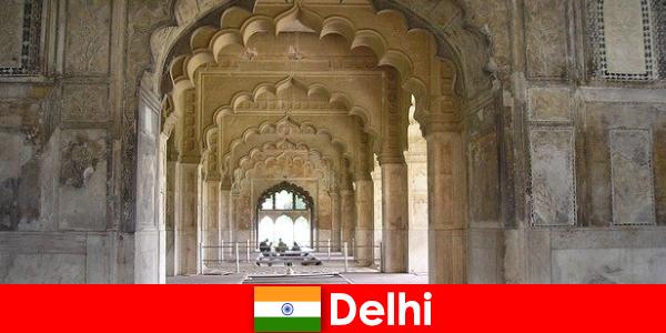 Fremmede elsker kulturelle ture til Delhi i Indien