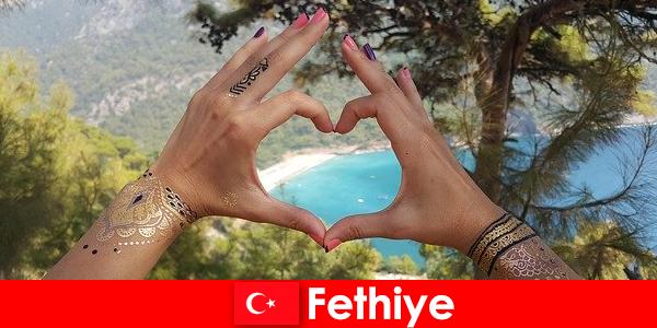 Strandferie i Tyrkiet Fethiye for unge og gamle altid en drøm