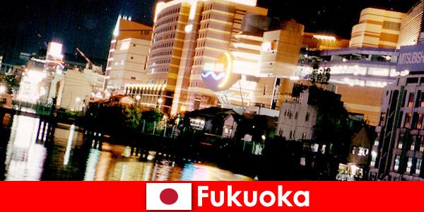 Fukuoka mange natklubber, natklubber eller restauranter er et top mødested for feriegæster