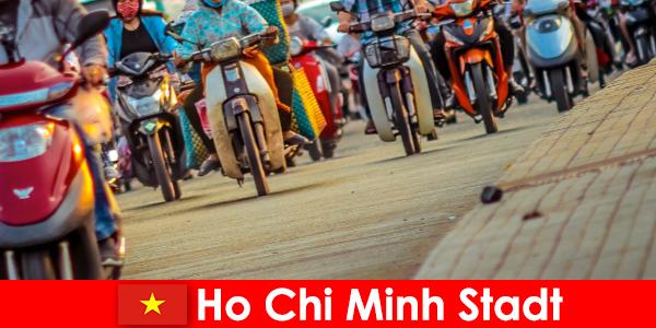 Ho Chi Minh by for cyklister og sportsfans turister altid en fornøjelse