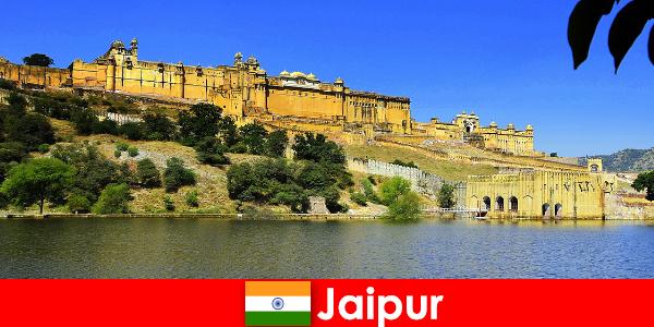 Fremmede i Jaipur elsker det mægtige tempelsand