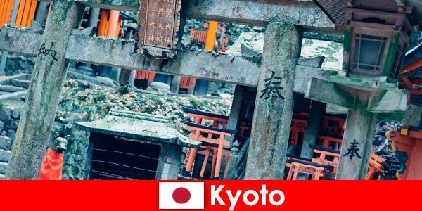 Kyoto japanske arkitekturer fra førkrigstiden er altid beundret af udlændinge