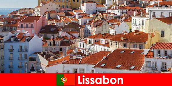 Lissabon kystbyen top destination med strandsol og lækker mad