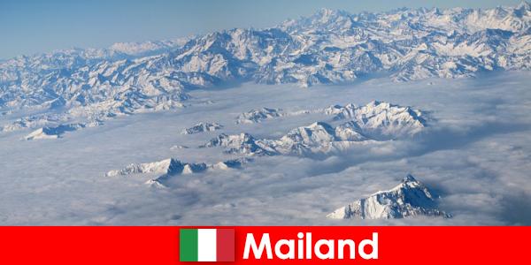 Milano en af de bedste skisportssteder for turister i Italien