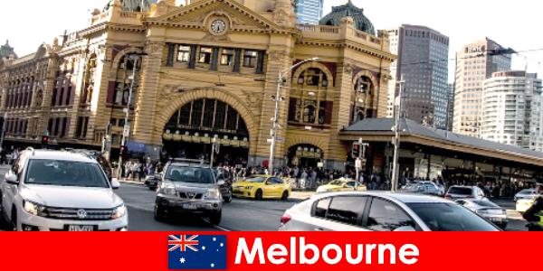 Melbournes største udendørs marked på den sydlige halvkugle et mødested for fremmede