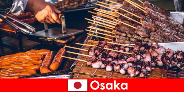 Osaka er køkkenet i Japan og et kontaktpunkt for alle, der leder efter et ferieeventyr