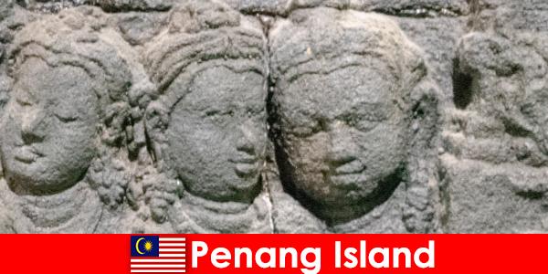 Penang Island har mange attraktioner og store højdepunkter i en