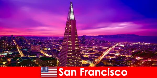San Francisco et levende kulturelt og økonomisk center for indvandrere