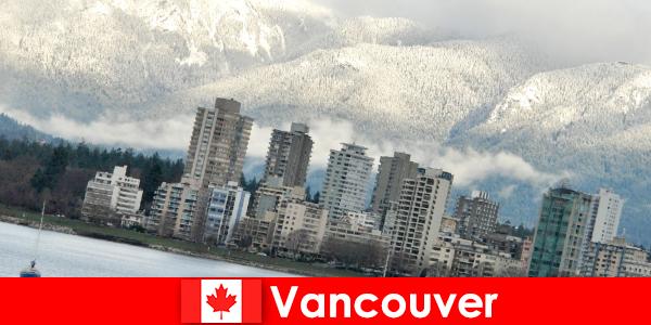 Vancouvers vidunderlige by mellem hav og bjerge åbner mange muligheder for sportsturister