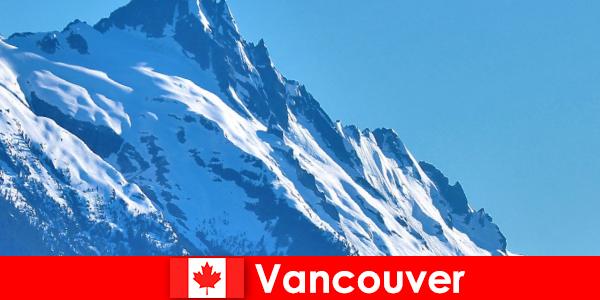 Byen Vancouver i Canada er det vigtigste mål for bjergbemanding turisme