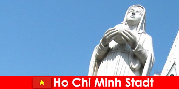 Økonomisk centrum af Vietnam Ho Chi Minh City en destination for udlændinge