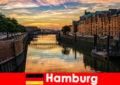 Arkitektonisk skønhed og underholdning til korte pauser i Hamborg Tyskland