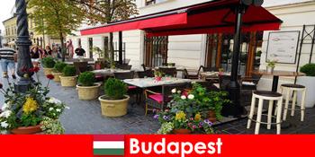 Kort pause destination i Budapest Ungarn for besøgende med smag for god mad