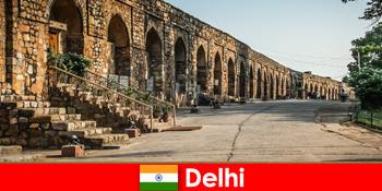Private guidede ture i byen Delhi Indien for interesserede kulturrejsende