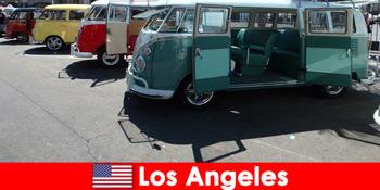 Udlændinge leje billige biler i Los Angeles USA for sonderende ture