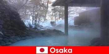 Osaka Japan tilbyder spa-gæster badning i varme kilder