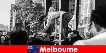 Kunst og kultur for kreative feriegæster i Melbourne Australien