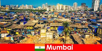 I Mumbai Indien oplever rejsende kontrasterne i denne vidunderlige by