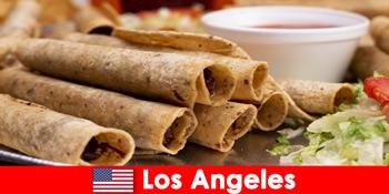 Udenlandske besøgende kan forvente en alsidig kulinarisk begivenhed i de bedste restauranter i Los Angeles USA