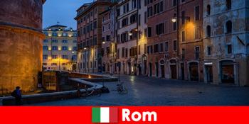 Kort tur for turister i efteråret til Rom Italien til de smukkeste seværdigheder