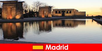 Populært rejsemål for udflugter til Madrid Spanien for europæiske studerende