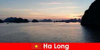 Perfekt ferie i Ha Long Vietnam for stressede turister fra udlandet