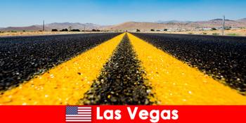 Thrills eventyr og sportsaktiviteter oplever rejsende i Las Vegas USA
