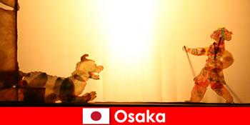 Osaka Japan tager turister fra hele verden på en komisk underholdningsrejse