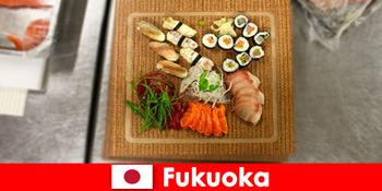 Fukuoka Japan er et populært rejsemål for kulinariske rejsende