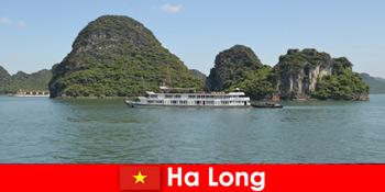 Flerdages krydstogter til turgrupper er meget populære i Ha Long Vietnam